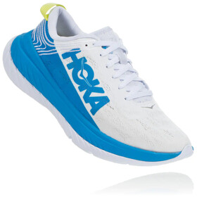 Hoka One One Carbon X Running Shoes Women, white/dresden blue